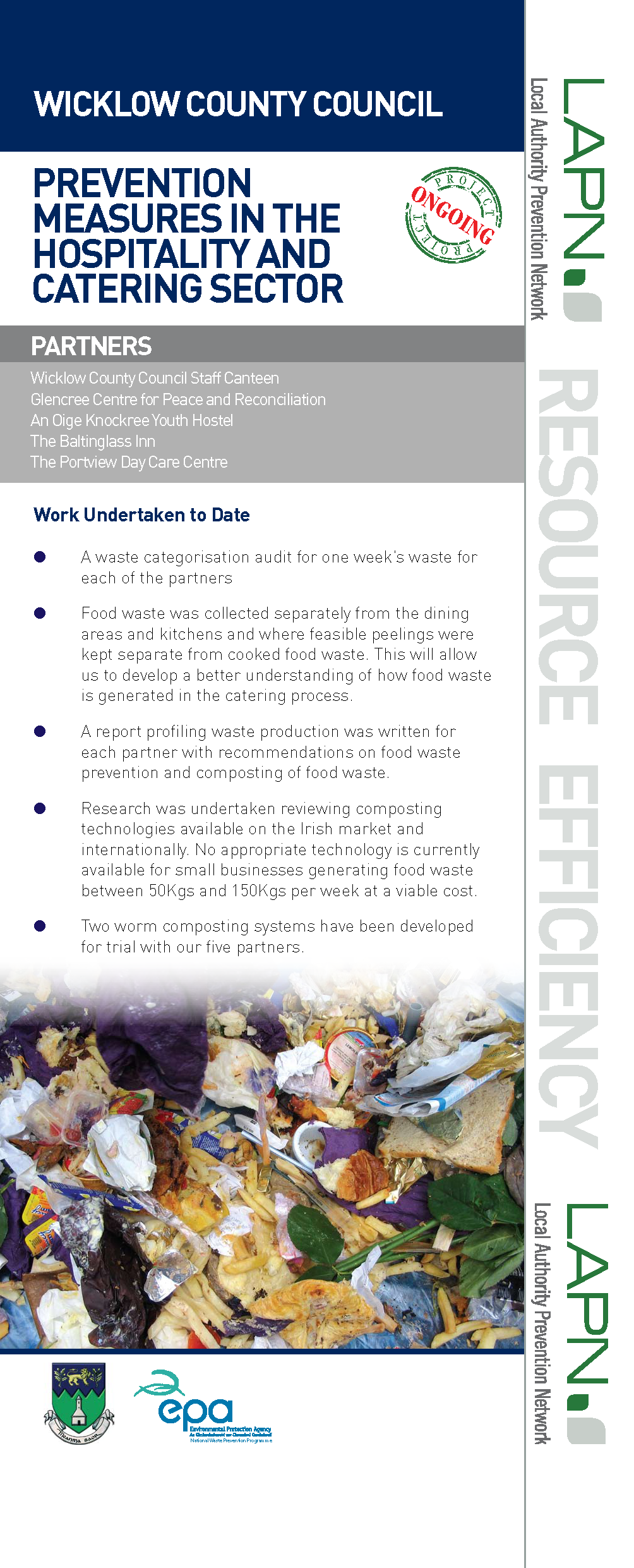 WICKLOW FOOD WASTE in catering 1