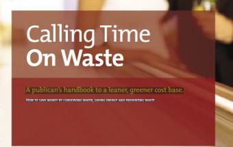calling time on waste logo
