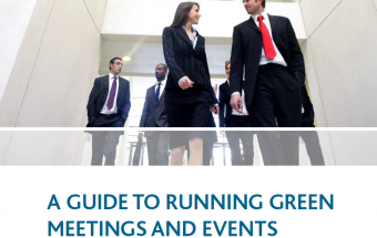 thumbnail for green meeting guide